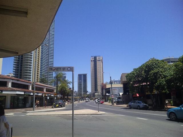オーストラリア ゴールドコーストの街中