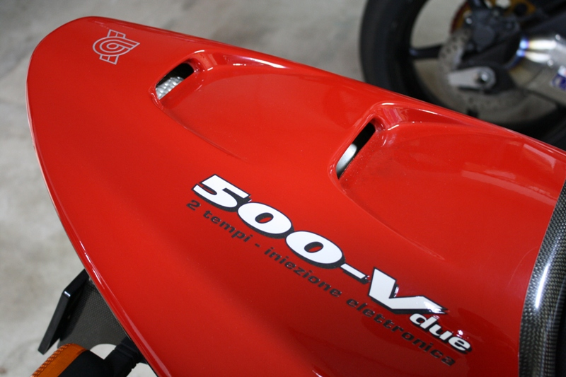 bimota 500Vdue シートカウル